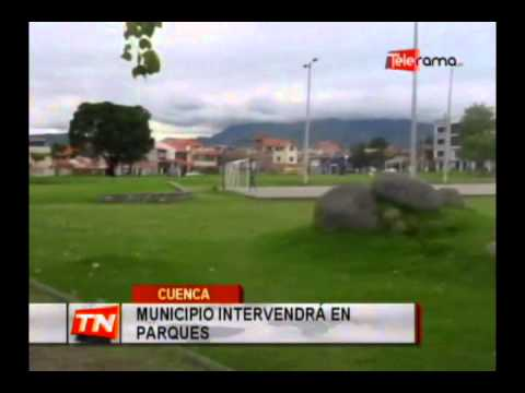 Municipio intervendrá en parques