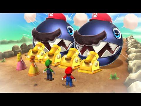 Mario Party 9 Boss Rush - Mario Vs Luigi Vs Wario Vs Peach (Master Cpu)