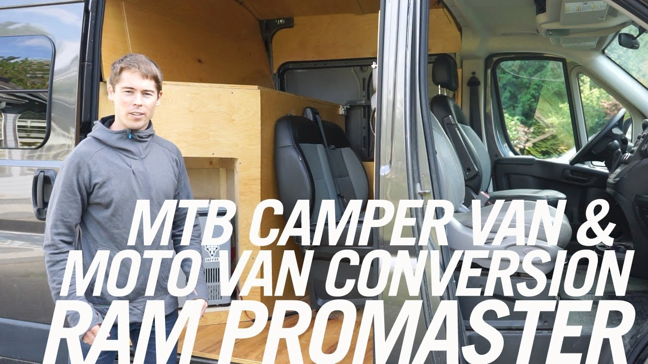 2015 Dodge RAM Promaster MTB Camper Van Build – Video