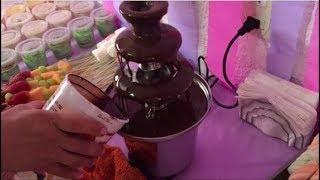 Cómo Usar Una Fuente De Chocolate Fabi Cea Youtube