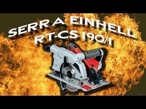 Serra circular Einhell RT-CS 190/1 - Ferramentas em Ao