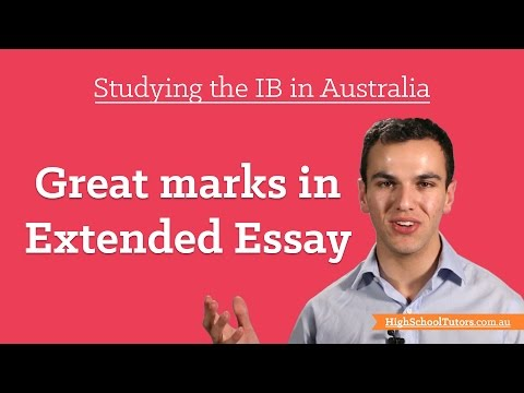 Studying The IB In Australia: Getting Great Marks In Extended Essay