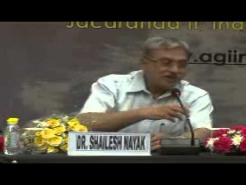 Valedictory address by Dr Shailesh Nayak, Secretary Ministry of Earth Sciences