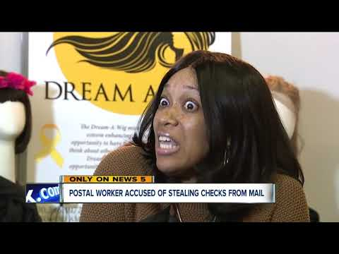 Postal worker accused of stealing check from mail, money meant to buy wigs for kids with cancer