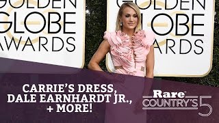 Carrie's Dress, Dale Earnhardt Jr., + More | Rare Country's 5