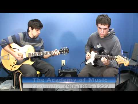 Guitar Lessons Oakville Georgetown - Academy of Music