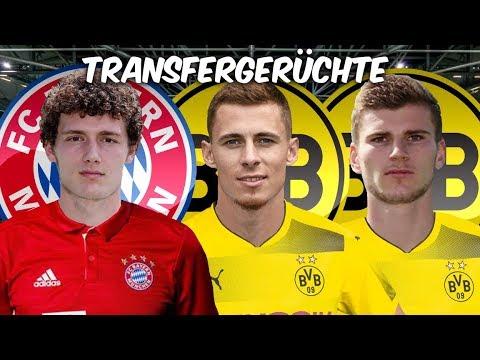 Pavard Wechsel zu den Bayern fix ! Werner und Hazard zum BVB ? | Transfers und Transfergerüchte 2019