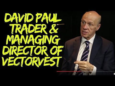David Paul, Financial Trader and Managing Director of VectorVest UK