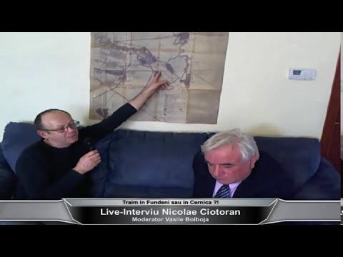 Traim in Fundeni sau in Cernica ?! Interviu cu Nicolae Ciotoran, istoric local Cernica.