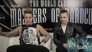 Papa Roach challenge Yelawolf, Skindred and Five Finger Death Punch to watch Russian music videos