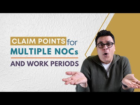 Can I Claim Points For Work Experience Under Multiple NOCs In Express Entry