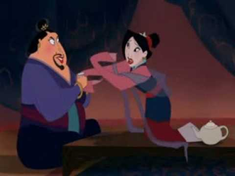 Funny Scene in Mulan with matchmaker