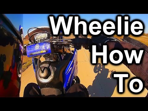 How I Wheelie a Motorcycle - Clutch Ups Wheelies