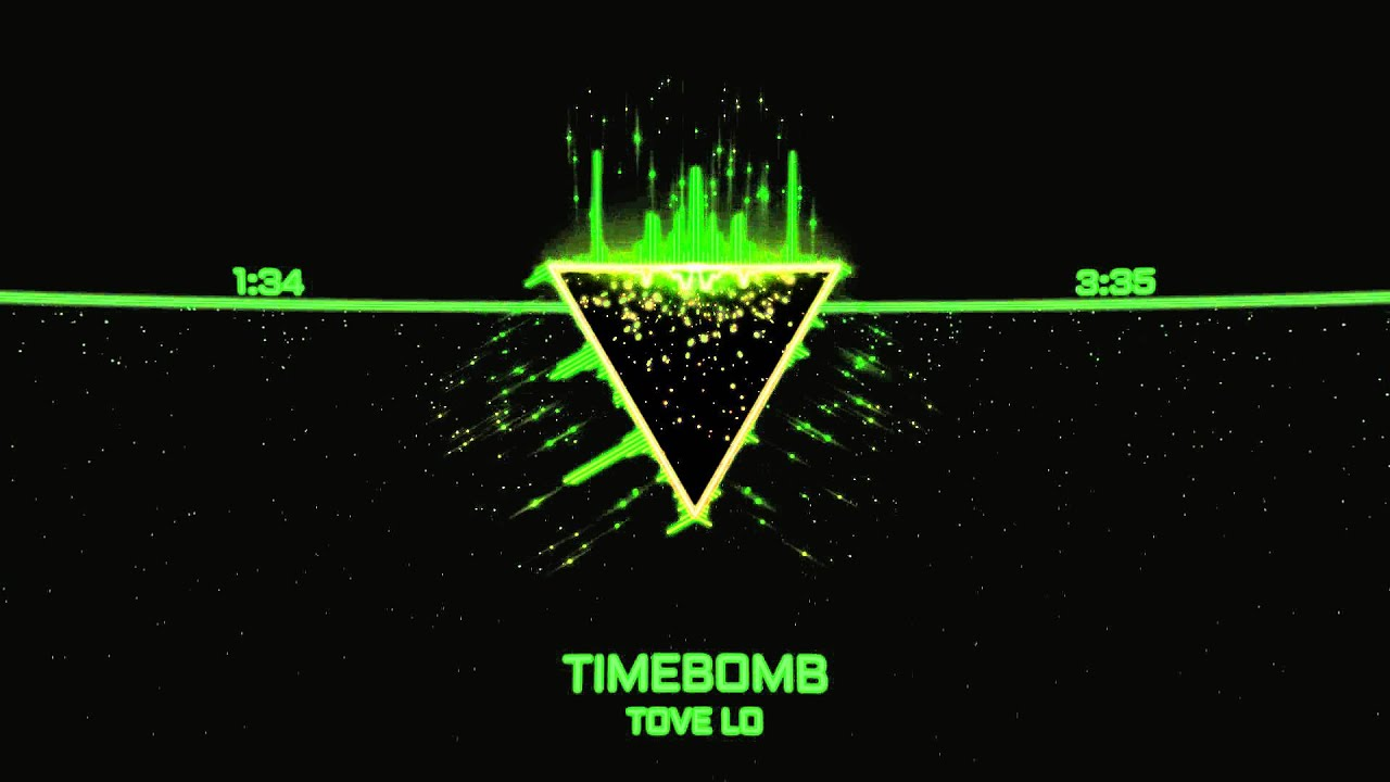 Tove Lo Timebomb Hd Visualized Lyrics In Description Youtube