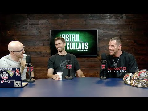 """Rafael Lovato Jr. Joins Us On """"A Fistful of Collars"""" FloGrappling Podcast"""