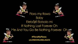 DAVIDO | FLORA MY FLAWA | LYRICS VIDEO