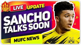 Sancho Talks SOON! Alaba United Transfer Possible! | Man Utd Transfer News
