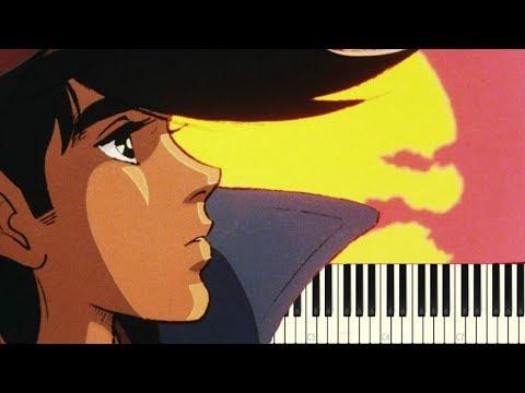 Ashita no Joe Opening 2 — Midnight Blues [Piano Tutorial]