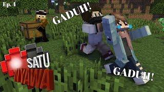 SEMUT JADI PEMBULI?!   Minecraft Satu Nyawa   Ep. 4 [MALAYSIA]