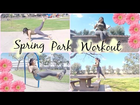 Fun At The Park: cardio weight loss workout