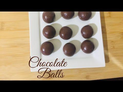 Chocolate Balls | No Bake Chocolate Biscuit Balls | Chocolate Recipes