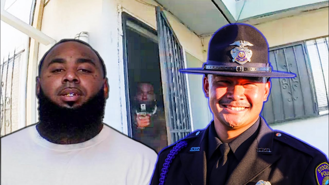 Body Cam: Both Officer and Suspect Fatally Shot. And a Mysterious Hero. Stockton Police. Mai 11-2021