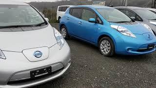 Электромобили, гибрид, автобазар, ЦЕНЫ, ВИДЕО, Владивосток Nissan Leaf