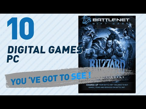 Top 10 Digital Games Pc Collection // Video Games 2017