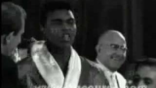 Cassius Clay Henry Cooper Weigh In 18/6/63
