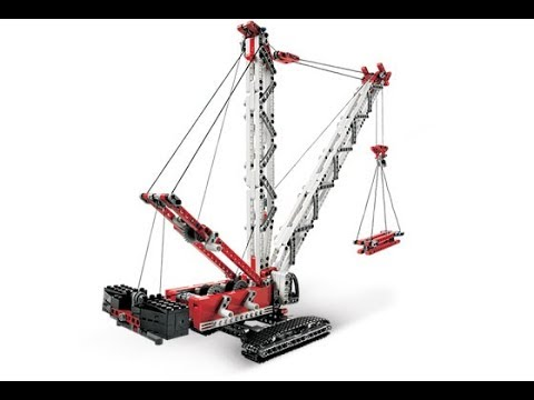 Lego Technic 8288 Crawler Crane Instructions With Part List Year