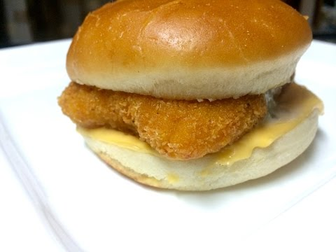 HOW TO MAKE MCDONALD'S FILET-O-FISH BURGER - Video Recipe| Filet 'O' Fish
