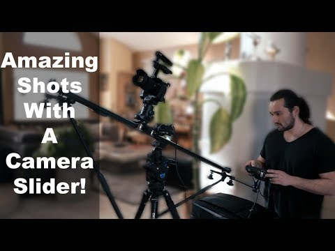 How To Get Incredible Video Using a Camera Slider - Sony A9 - A7S | Momentum Productions