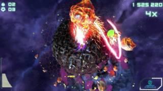 Super Stardust Delta Vita Gameplay