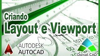 Autocad 2014 - Criando Layout E Viewport (formato A4)
