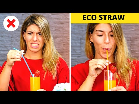 38 ECO-FRIENDLY IDEAS YOU DIDN'T KNOW BEFORE || 5-Minute Recipes For A Natural Living!