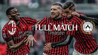 Full Match | AC Milan 3-2 Udinese | Serie A TIM 2019/20