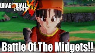 Battle Of Midgets!! Pan VS Teen Gohan!!