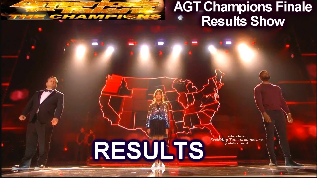 RESULTS Top 5 Angelica Hale Lawson  Paul Potts Shin Lim | America's Got Talent Champions Finale