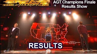 rESULTS Top 5 Angelica Hale Lawson  Paul Potts Shin Lim | America's Got Talent Champions Finale AGT