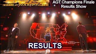 RESULTS Top 5 Angelica Hale Lawson  Paul Potts Shin Lim | America's Got Talent Champions Finale AGT