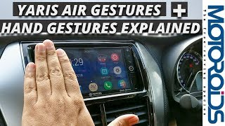 Toyota Yaris Infotainment System Explained - Air Gestures, Hand Gestures, MirrorLink and Miracast