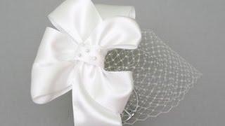 Аксессуар для невесты: обруч своими руками