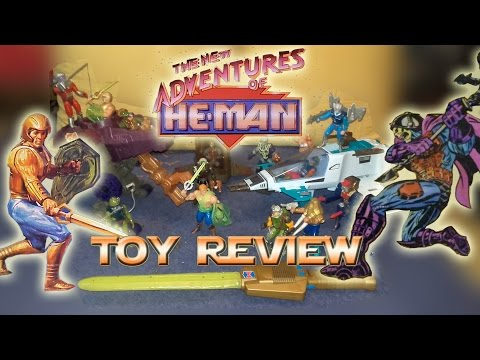 New Adventures of He man -  toy review thumbnail