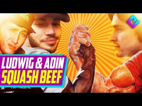"""Adin Ross vs Ludwig END TWITCH BEEF, """"Blame Keemstar"""""""
