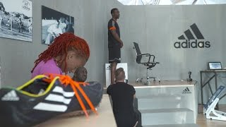 Backstage - Adidas: Only the Best for the Athlete