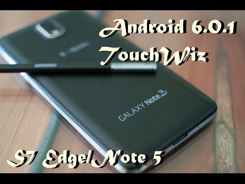 Transformando Note 3 Em Note 7. Android 6.0 Android 7.1