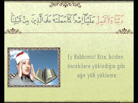Abdussamed Bakara Suresi 285 -286 (Amenerrasulu)