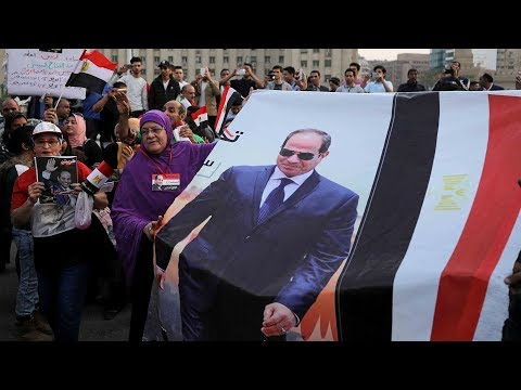 Sisi re-elected president of Egypt in a landslide victory
