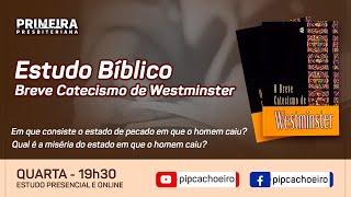 ✅Quarta 09/06 às 19h30 | Estudo Bíblico Semanal Presencial