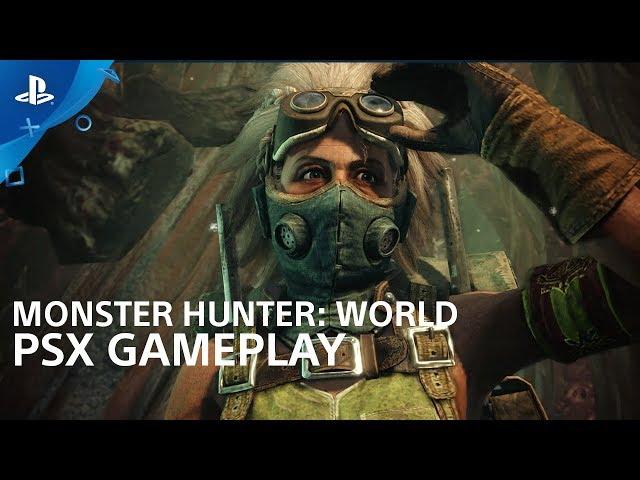 Monster Hunter: World - PSX 2017: Gameplay Interview | PS4